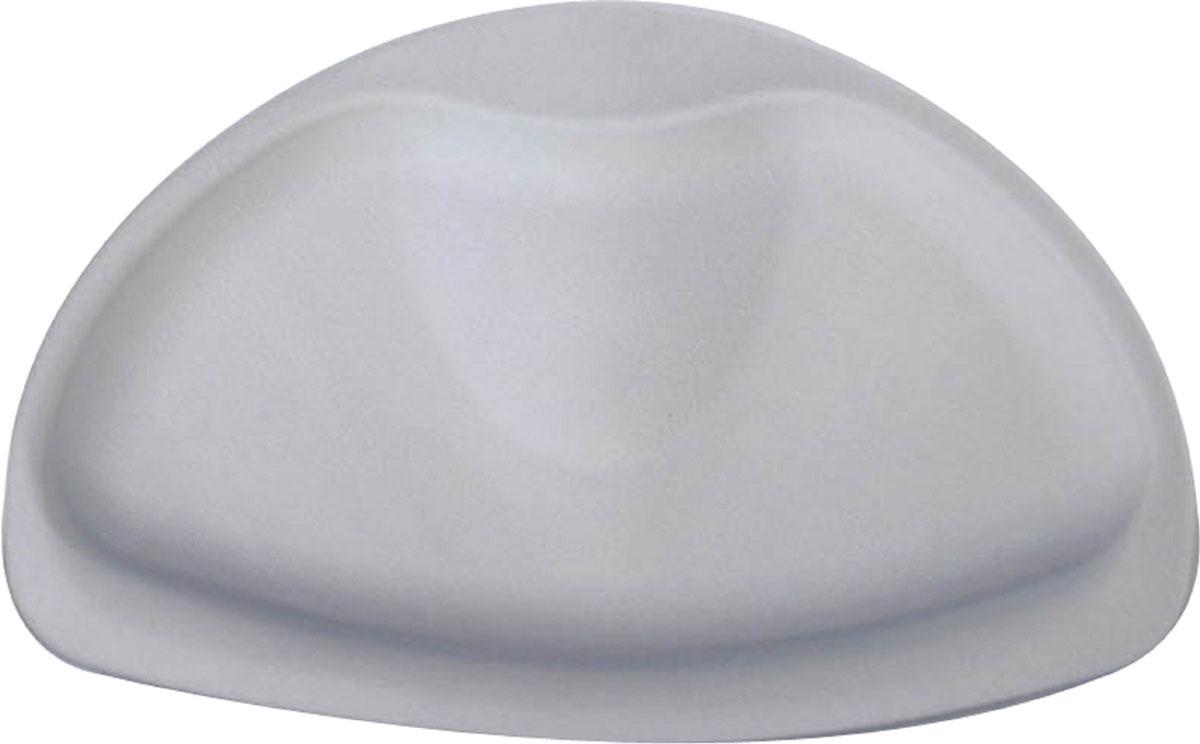 Подушка для ванны Ridder Tecno+, цвет: серый, 20 х 30 смА6800607Высококачественный немецкий подголовник Tecno+ создан для вашего удобства. Он изготовлен из синтетического каучука с защитой от плесени и грибка, несодержит ПВХ, имеет присоски для крепления.Безопасность изделия соответствует стандартам LGA (Германия).
