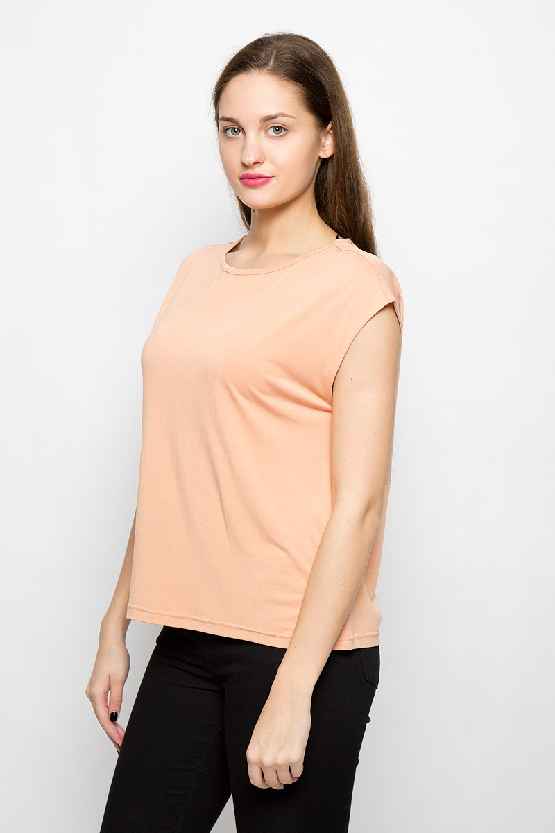 Блузка женская Selected Femme Sfirina, цвет: персиковый. 16052043. Размер L (46)