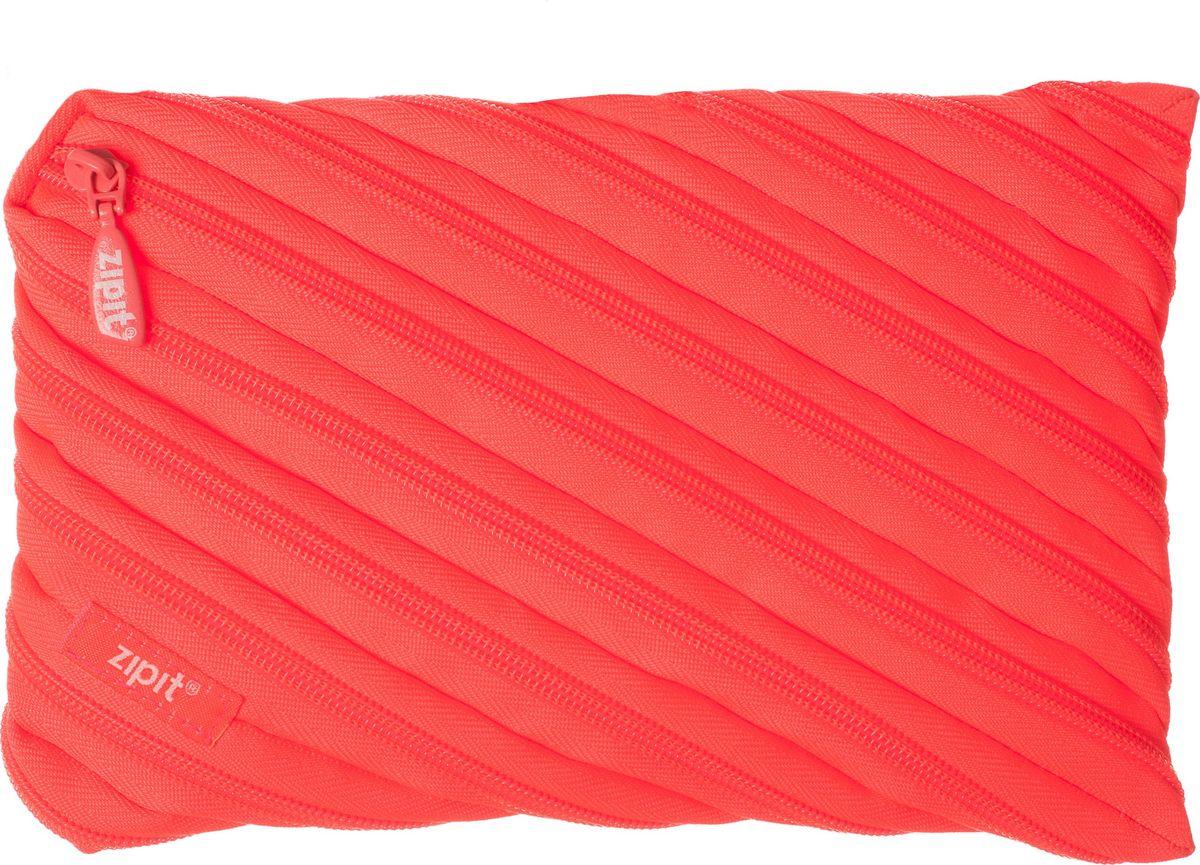 Zipit Пенал Neon Jumbo Pouch цвет коралловыйZTJ-NN-2Оригинальный пенал Zipit Neon Jumbo Pouch изготовлен из одной длинной застежки-молнии. Он удобен для разных мелочей и пишущих принадлежностей.