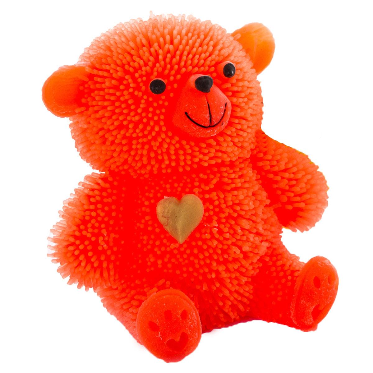 HGL Фигурка Медведь с подсветкой цвет оранжевый