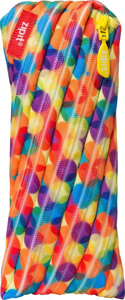 Zipit Пенал Colors Pouch цвет мультиколорZT-CZ-SBUBЯркий пенал Zipit Colors Pouch изготовлен из одной длинной застежки-молнии и оформлен принтом в виде разноцветных шариков. Он удобен для разных мелочей и пишущих принадлежностей.