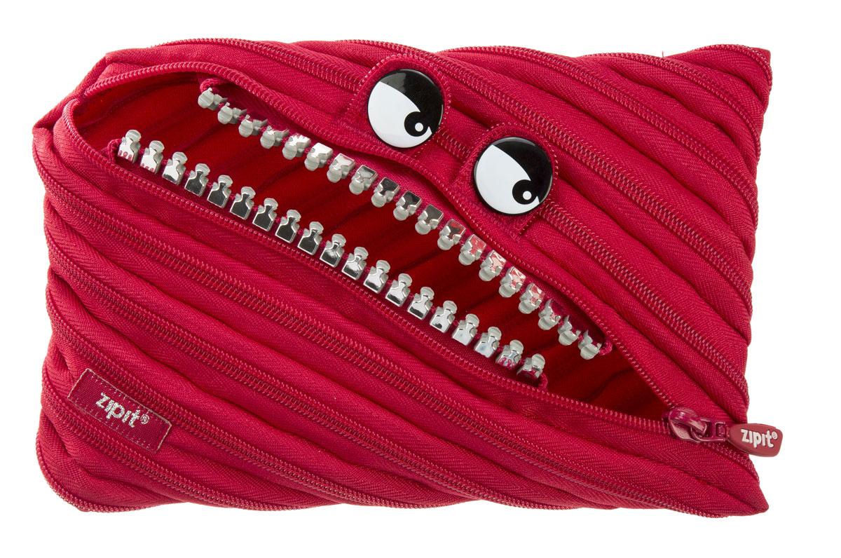 Zipit Пенал Grillz Jumbo Pouch цвет красныйZTMJ-GR-RIНеобычный пенал Zipit Grillz Jumbo Pouch изготовлен из одной длинной застежки-молнии. Он удобен для разных мелочей и пишущих принадлежностей. Особенности пенала - зубки и глазки. Его обладатель всегда будет в хорошем настроении!