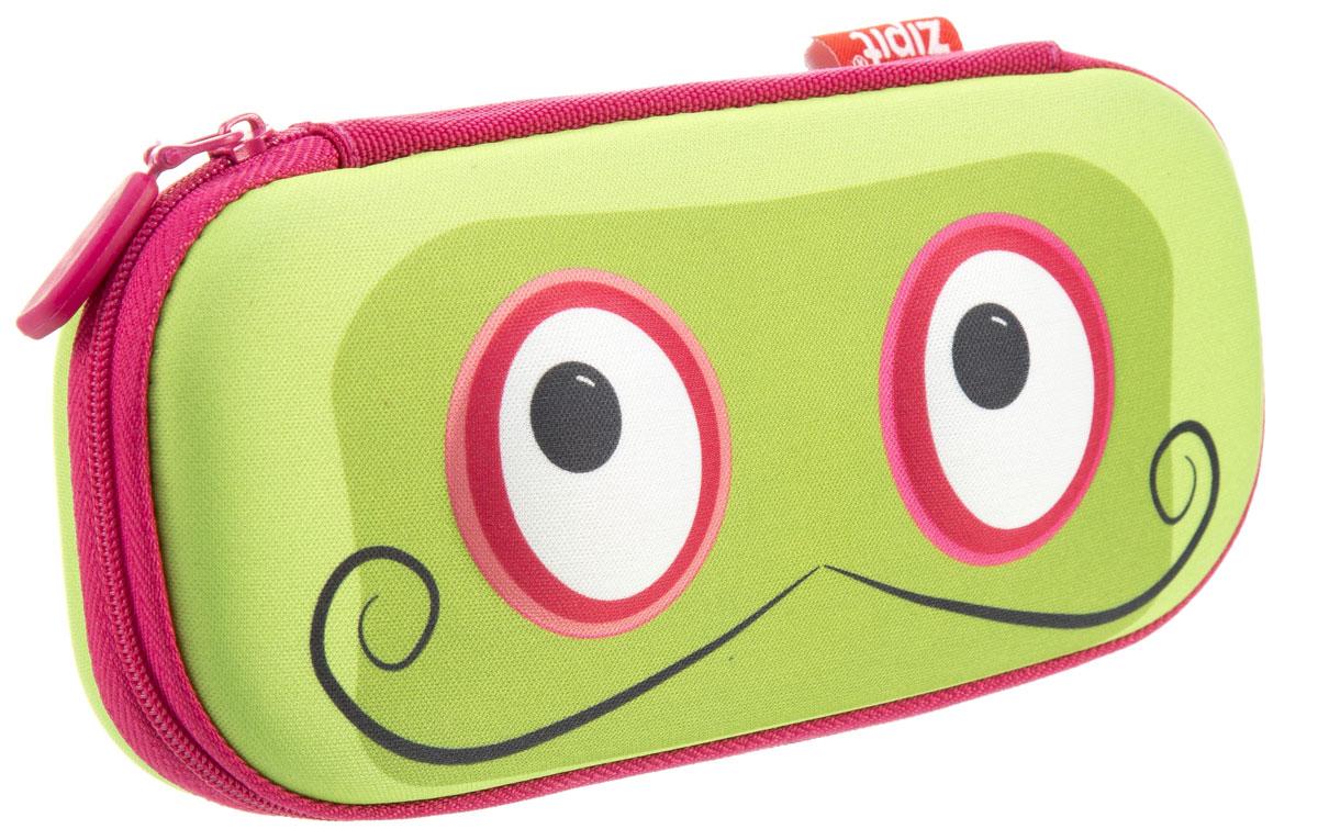 Zipit Пенал Beast Box цвет зеленый zipit пенал сумочка neon jumbo pouch