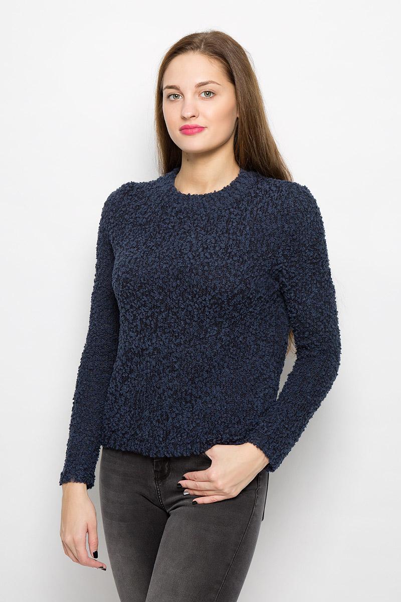 Джемпер женский Tom Tailor, цвет: темно-синий. 3021834.00.71_6901. Размер XS (42)