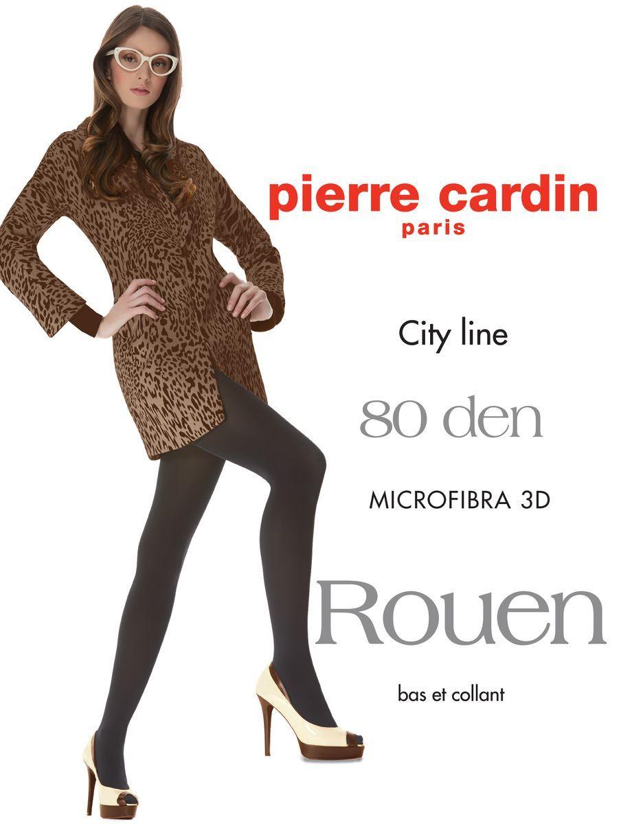 Колготки Pierre Cardin Cr Rouen 80, цвет: Fumo (темно-серый). Размер 5 (48/50)