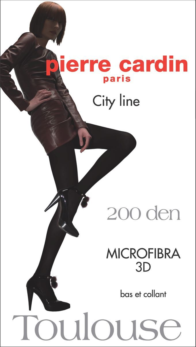 Колготки Pierre Cardin Cr Toulouse 200, цвет: Fumo (темно-серый). Размер 4 колготки pierre cardin cr toulouse 200 цвет fumo темно серый размер 4