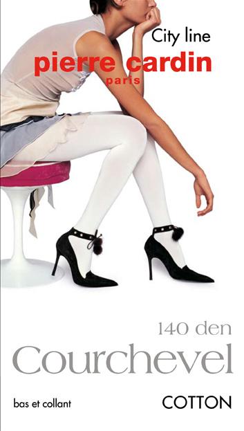 Колготки Pierre Cardin Cr Courchevel 140, цвет: Panna (кремовый). Размер 4 (46/48) колготки pierre cardin cr toulouse 200 цвет fumo темно серый размер 4
