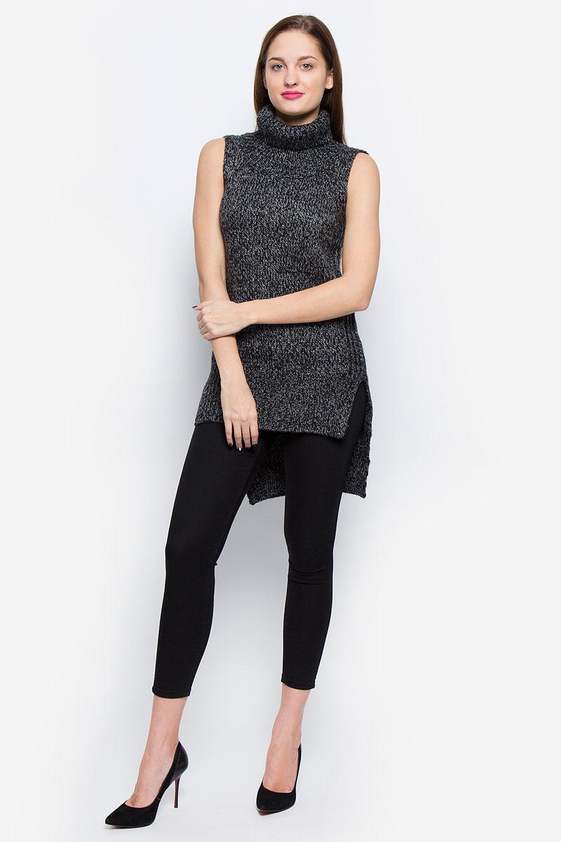 Туника женская Glamorous, цвет: серый, черный. CK3320. Размер XS (42) glamorous gl008ewhnj90