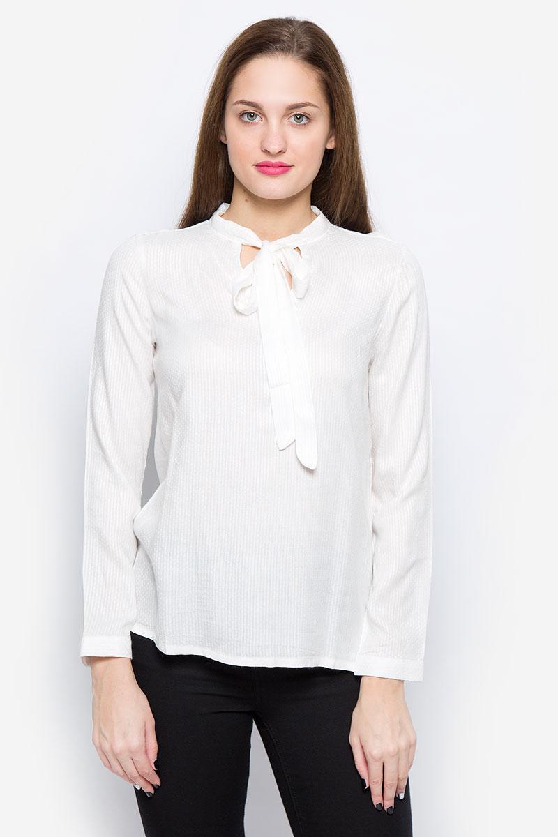 Блузка женская Tom Tailor Denim, цвет: белый. 1036105.01.71_8005. Размер XS (42)