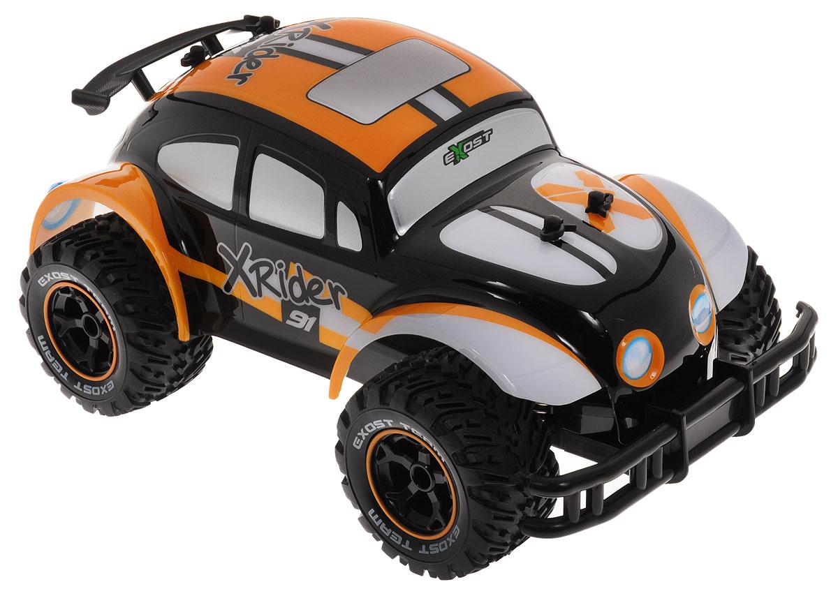 Silverlit Машина на радиоуправлении Икс Райдер цвет оранжевый черный silverlit silverlit радиоуправляемые машинки икс райдер