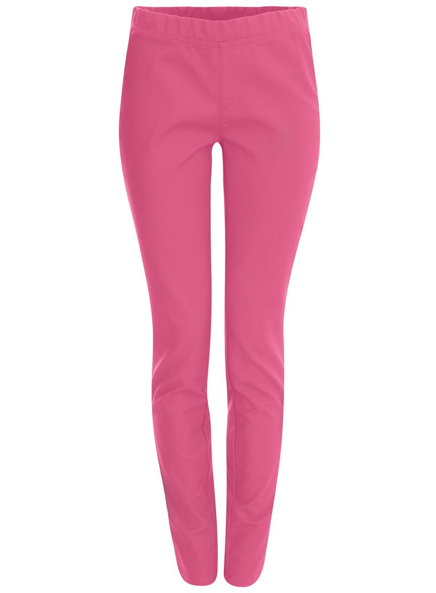 Брюки женские oodji Ultra, цвет: розовый. 11707102/35639/4D00N. Размер 36 (42-164)