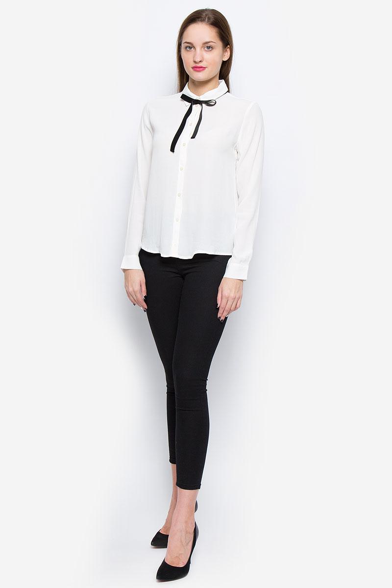 Купить Блузка женская Tom Tailor, цвет: белый. 2032465.00.75_8210. Размер 38 (44)
