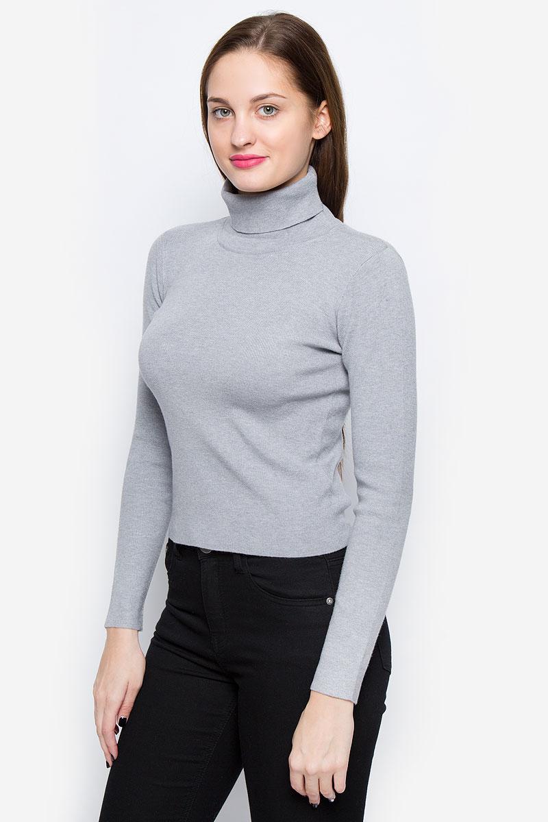 Водолазка женская Glamorous, цвет: серый. CK1968. Размер XS (42) glamorous джемпер glamorous ck1968 grey