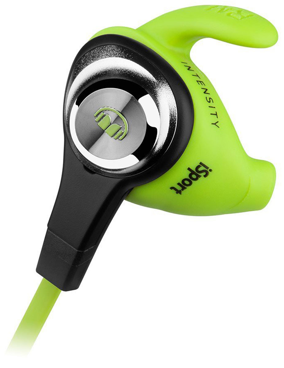 все цены на Monster iSport Intensity, Green наушники онлайн