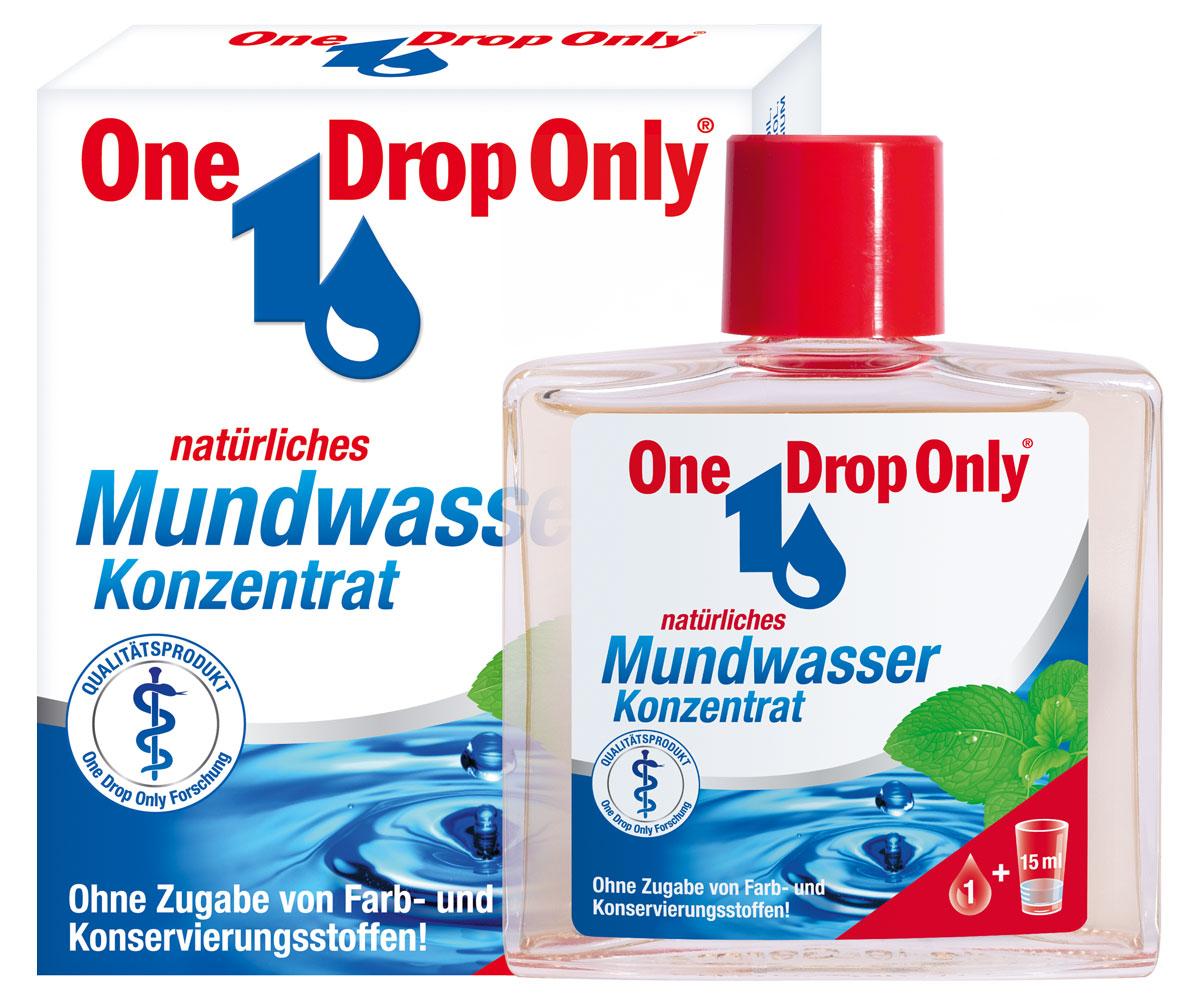 One Drop Only Концентрат для полоскания полости рта с лекарственными травами, 25 мл