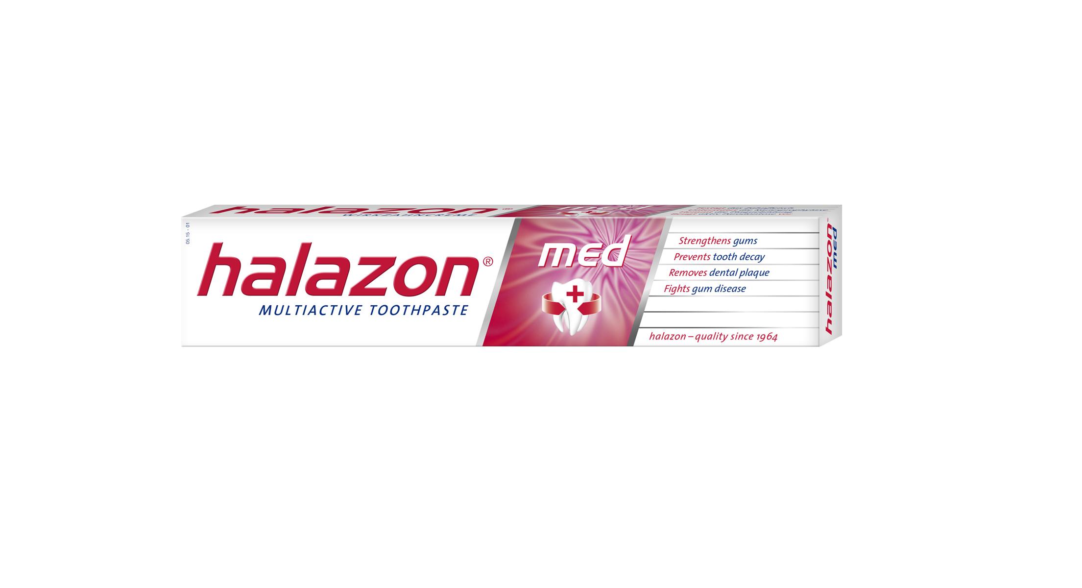 One Drop Only Зубная паста Halazon med для профилактики пародонтоза и гиперчувствительности десен, 75ml silca med зубная паста яблоко с 2 лет 65 г