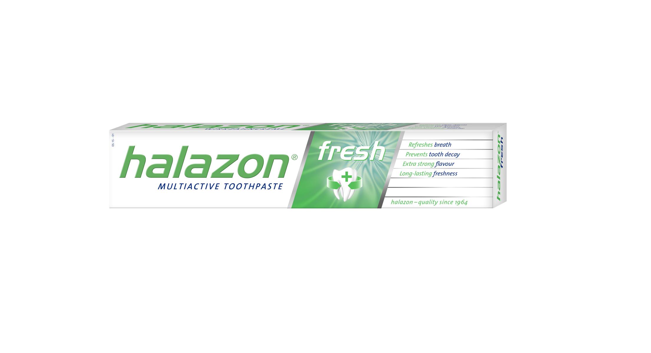 One Drop Only Зубная паста Halazon Fresh с ментолом, способствует реминерализации зубов и укрепления эмали, 75mlH13FЗубная паста Halazon Fresh с ментолом, способствует реминерализации зубов и укрепления эмали