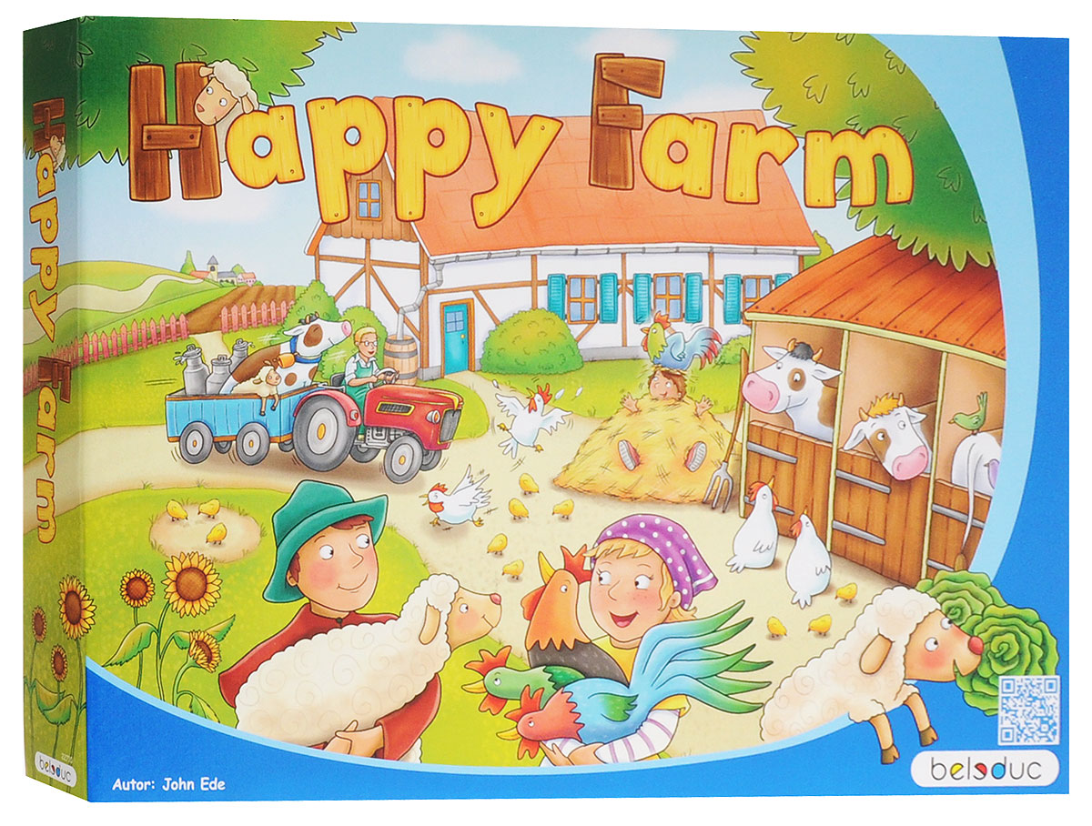 Beleduc Обучающая игра Веселая ферма-2 -