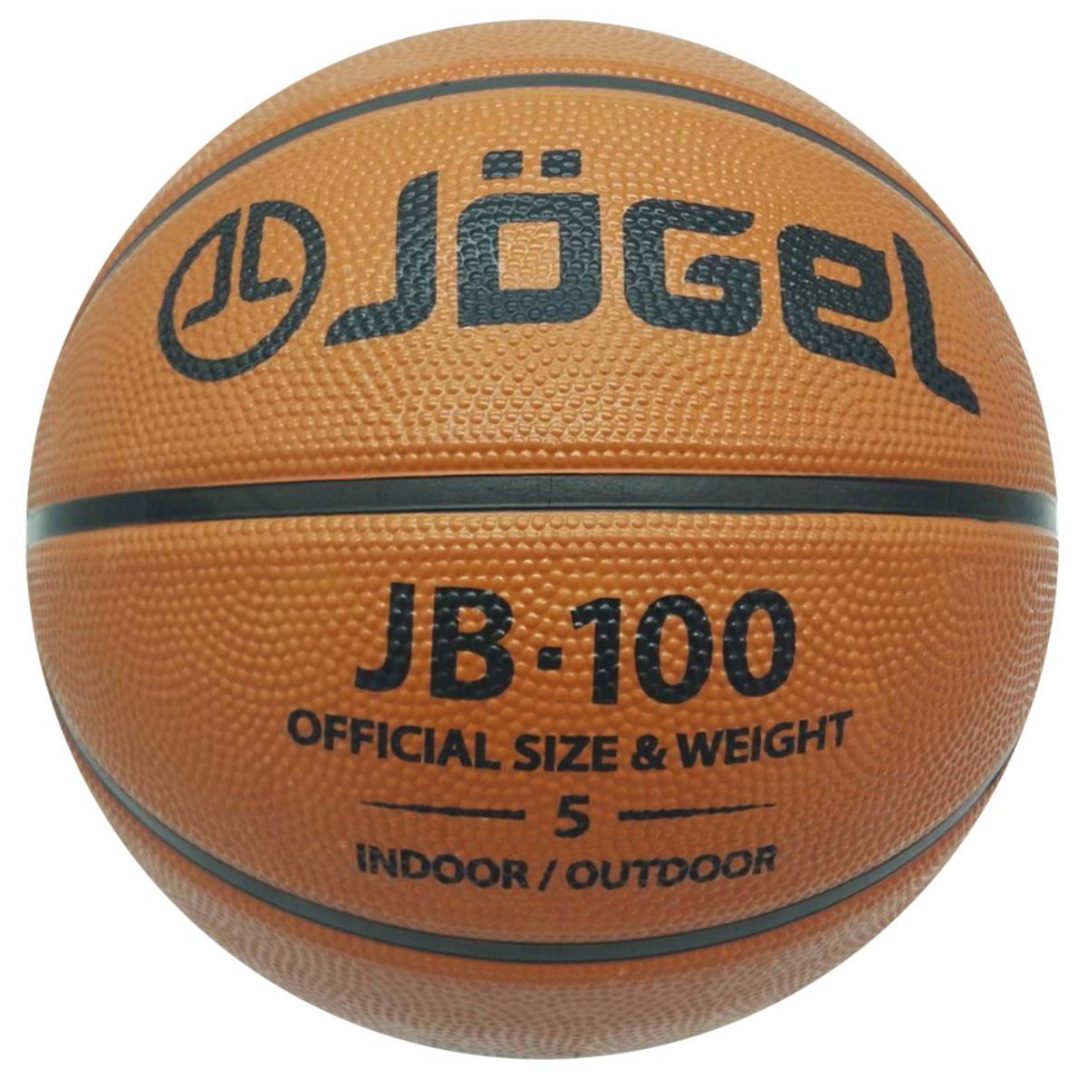 Мяч баскетбольный Jogel, цвет: коричневый. Размер 5. JB-100УТ-00009267Классический резиновый баскетбольный мяч Jogel часто используется в уличном баскетболе, учебных заведениях и СДЮШ.Покрышка мяча выполнена из износостойкой резины, поэтому с мячом можно играть на любой поверхности, как в зале, так и на улице. В создании мячей используется технология DeepChannel (глубокие каналы), благодаря которой достигается отличный контроль мяча во время броска и дриблинга.Камера выполнена из бутила.Мяч баскетбольный рекомендован для любительской игры, тренировок команд среднего уровня и любительских команд.Вес: 470-510 гр.Длина окружности: 69-71 см.Рекомендованное давление: 0.5-0.6 бар.УВАЖАЕМЫЕ КЛИЕНТЫ!Обращаем ваше внимание на тот факт, что мяч поставляется в сдутом виде. Насос в комплект не входит.