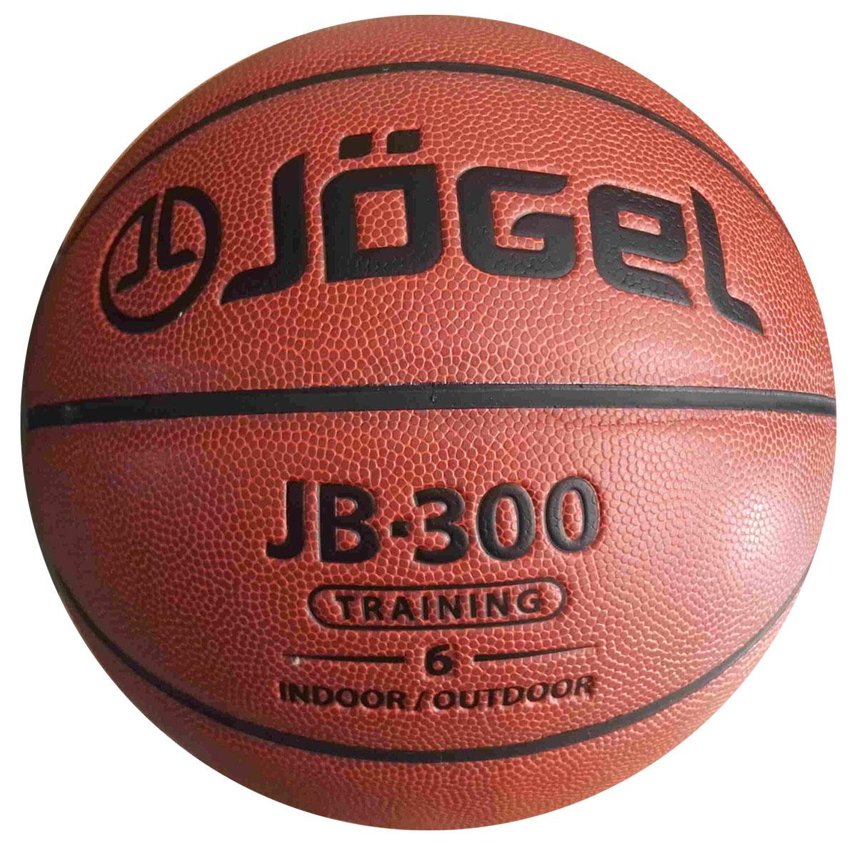 Мяч баскетбольный Jogel, цвет: коричневый. Размер 6. JB-300УТ-00009326Классический резиновый баскетбольный мяч Jogel часто используется в уличном баскетболе, учебных заведениях и СДЮШ.Покрышка мяча выполнена из износостойкой резины, поэтому с мячом можно играть на любой поверхности, как в зале, так и на улице. В создании мячей используется технология DeepChannel (глубокие каналы), благодаря которой достигается отличный контроль мяча во время броска и дриблинга.Камера выполнена из бутила.Мяч баскетбольный рекомендован для любительской игры, тренировок команд среднего уровня и любительских команд.Вес: 510-567 гр.Длина окружности: 72-74 см.Рекомендованное давление: 0.5-0.6 бар.УВАЖАЕМЫЕ КЛИЕНТЫ!Обращаем ваше внимание на тот факт, что мяч поставляется в сдутом виде. Насос в комплект не входит.