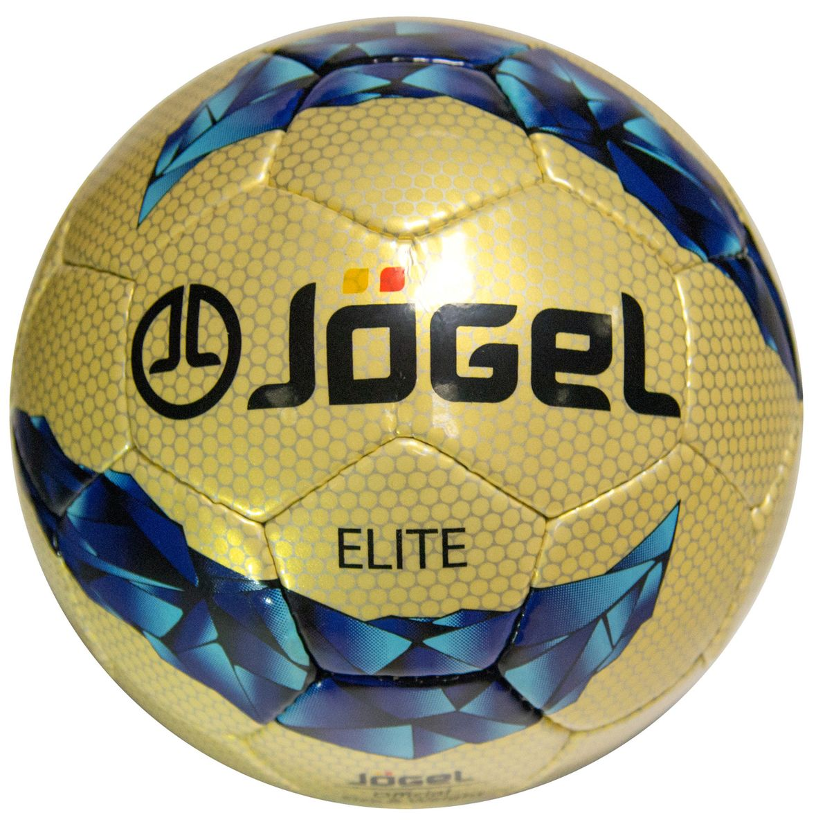 Мяч футбольный Jogel Elite, цвет: золотистый, фиолетовый, голубой. Размер 5. JS-800УТ-00009478Футбольный мяч JS-800 Elite с прочной покрышкой толщиной 1.5 мм из синтетической кожи, сшитой вручную, имеет отличные технические характеристики, соответствующие требованиям тренировочного процесса. В нем предусмотрено четыре подкладочных слоя из смеси хлопка с полиэстером. Камера из латекса хорошо держит давление. Мяч футбольный JS-800 Elite станет отличным выбором для тренировок и проведения любительских матчей.Вес: 410-450 гр.Длина окружности: 68-70 см.Рекомендованные покрытия: натуральный газон, синтетическая трава. Рекомендованное давление: 0.6-0.8 бар. УВАЖАЕМЫЕ КЛИЕНТЫ!Обращаем ваше внимание на тот факт, что мяч поставляется в сдутом виде. Насос в комплект не входит.