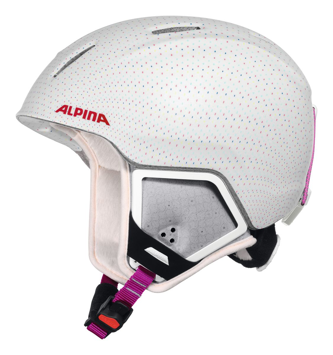 Шлем зимний Alpina Carat Xt, цвет: белый. Размер 54-58. 9080_119080_11Особенности:• Вентиляционные отверстия препятствуют перегреву и позволяют поддерживать идеальную температуру внутри шлема. Для этого инженеры Alpina используют эффект Вентури, чтобы сделать циркуляцию воздуха постоянной и максимально эффективной.• Внутренник шлема легко вынимается, стирается, сушится и вставляется обратно.• Из задней части шлема можно достать шейный утеплитель из мякого микро-флиса. Этот теплый воротник также защищает шею от ударов на высокой скорости и при сибирских морозах. В удобной конструкции отсутствуют точки давления на шею.• Прочная и лёгкая конструкция In-moldInmould - технология, при которой внутренняя оболочка из EPS (вспененного полистирола) покрыта поликарбонатом. Внешняя тонкая жесткая оболочка призвана распределить энергию от удара по всей площади шлема, защитить внутреннюю часть от проникновения острых осколков и сохранить ее форму. Внутренняя толстая мягкая оболочка демпфирует ударную энергию, предохраняя головной мозг от ударов. Такой шлем наиболее легкий и подходит большинству горнолыжников, не бросающих вызов судьбе в поисках адреналина. . Тонкая и прочная поликарбонатная оболочка под воздействием высокой температуры и давления буквально сплавляется с гранулами EPSВспенивающийся полистирол (ПСВ) являлся изоляционным полимерным материалом. Каждая гранула состоит из равномерно распределенных микроскопических плотных клеток заполненных воздухом. Пенополистирол на 98% состоит из воздуха и только на 2% из полистирола. Такая структура и придает замечательные свойства материалу, получившему заслуженное признание во всем мире. Прочность пенополистирола позволяет применять его в качестве конструктивного элемента, способного нести значительные нагрузки в течение длительного времени. Пенополистирол не гигроскопичен, он обладает хорошими механическими и изоляционными свойствами и значительной конструкционной гибкостью., которые гасят ударную нагрузку.• Внутренная оболочка 