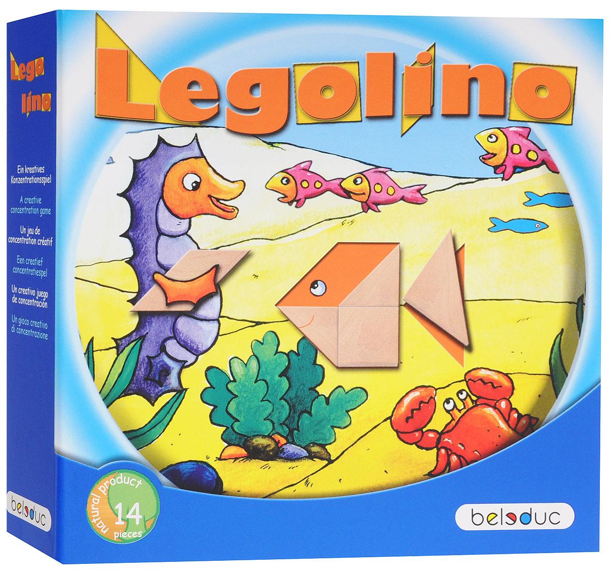 Beleduc Обучающая игра Леголино игра танграм игра купить