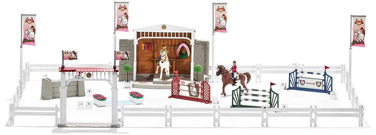 Schleich Игровой набор Турнир с лошадьми и наездниками schleich игровой набор пещера со львом