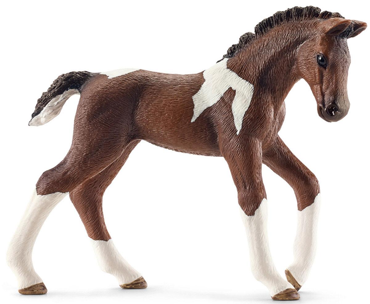 Schleich Фигурка Тракен��нский жеребенок schleich тракененская лошадь жеребенок schleich