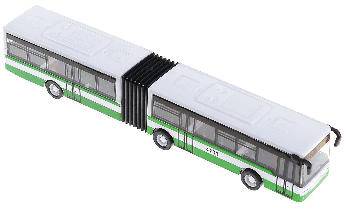 ТехноПарк Автобус инерционный Гортранс dave toy погрузчик инерционный