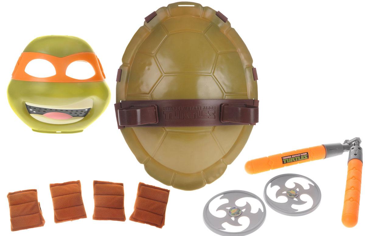 Черепашки Ниндзя Полная экипировка Микеланджело - Сюжетно-ролевые игрушки