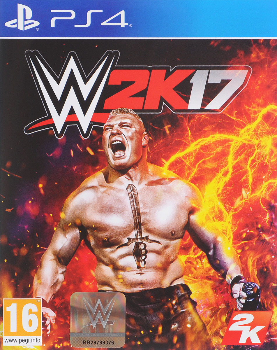 Zakazat.ru WWE 2K17 (PS4)