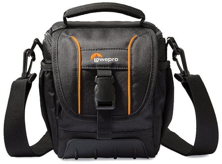 Lowepro Adventura SH120 II, Black сумка для фотокамеры lowepro adventura sh100 ii black