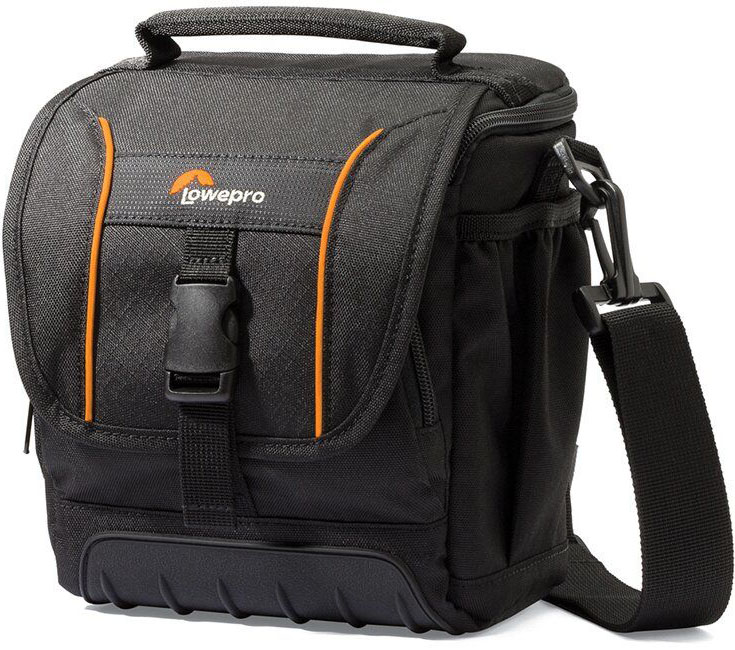 Lowepro Adventura SH140 II, Black сумка для фотокамеры lowepro adventura sh100 ii black