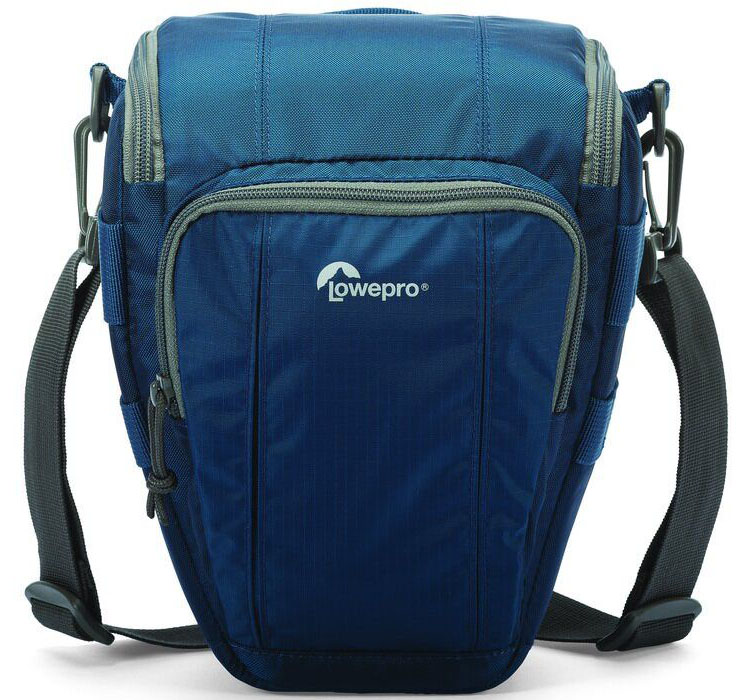 Lowepro Toploader Zoom 50 AW II, Blue сумка для фотокамеры lowepro toploader pro 70 aw ii