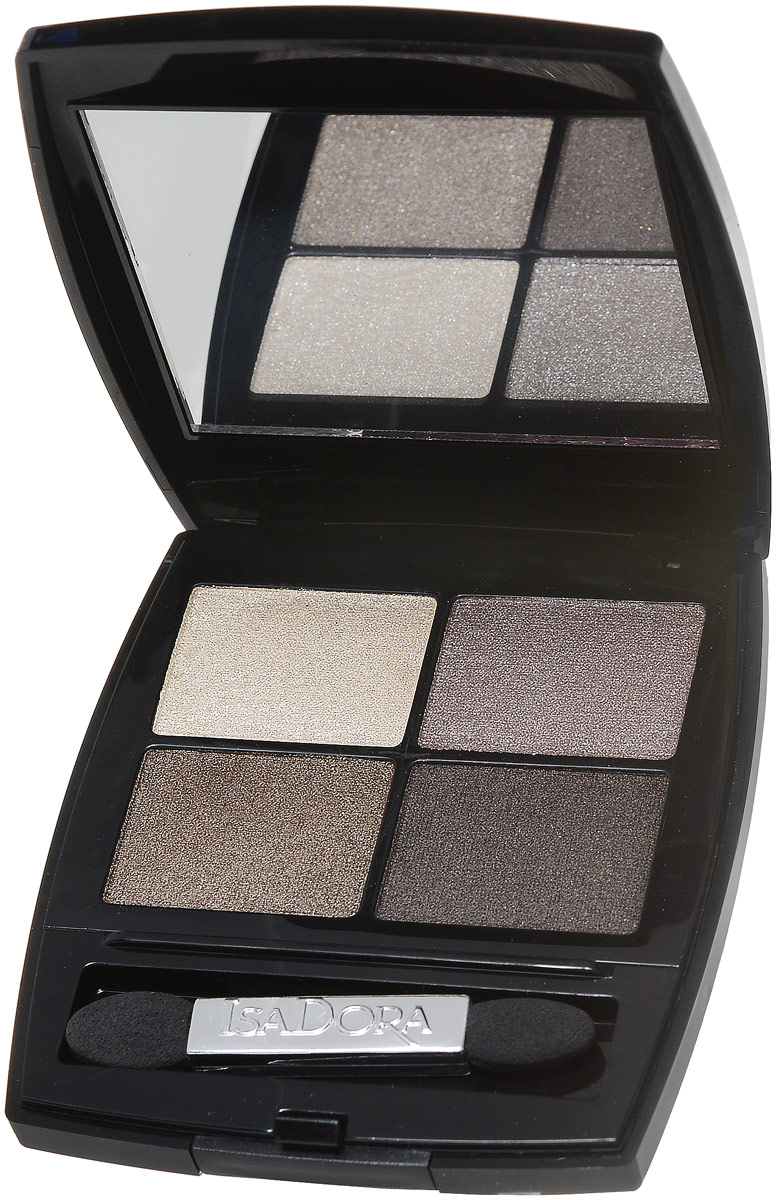 Isadora тени для век Eye shadow quartet 09 5 гр тени для век isadora eye shadow quartet 03 цвет 03 urban green variant hex name a19388