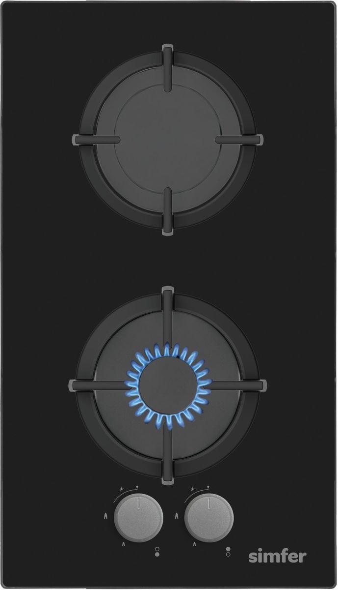 Simfer H30N20B411 панель варочная газовая
