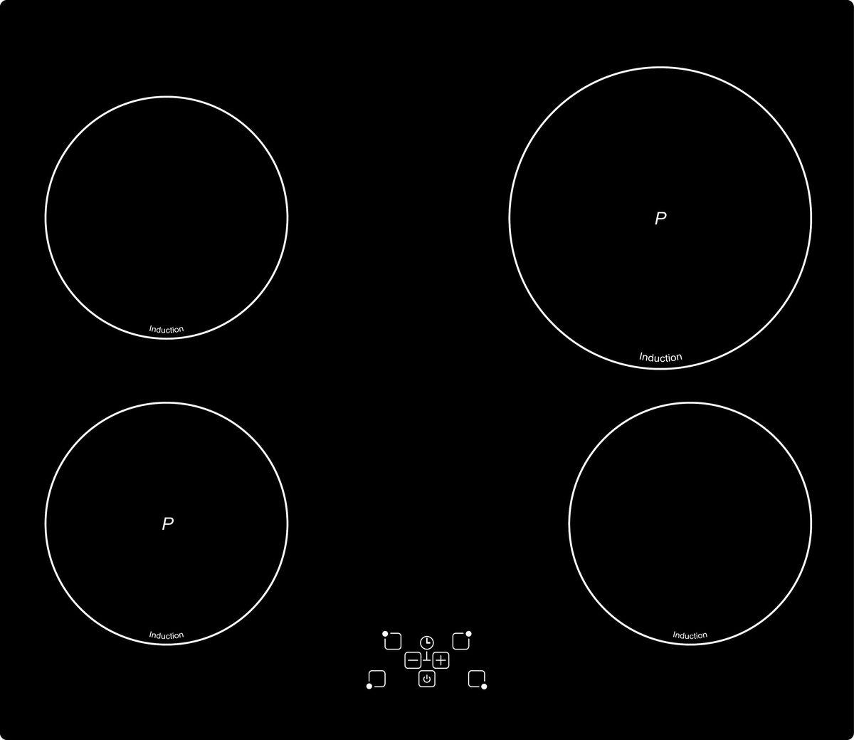 Simfer H60I18B001 панель варочная индукционная