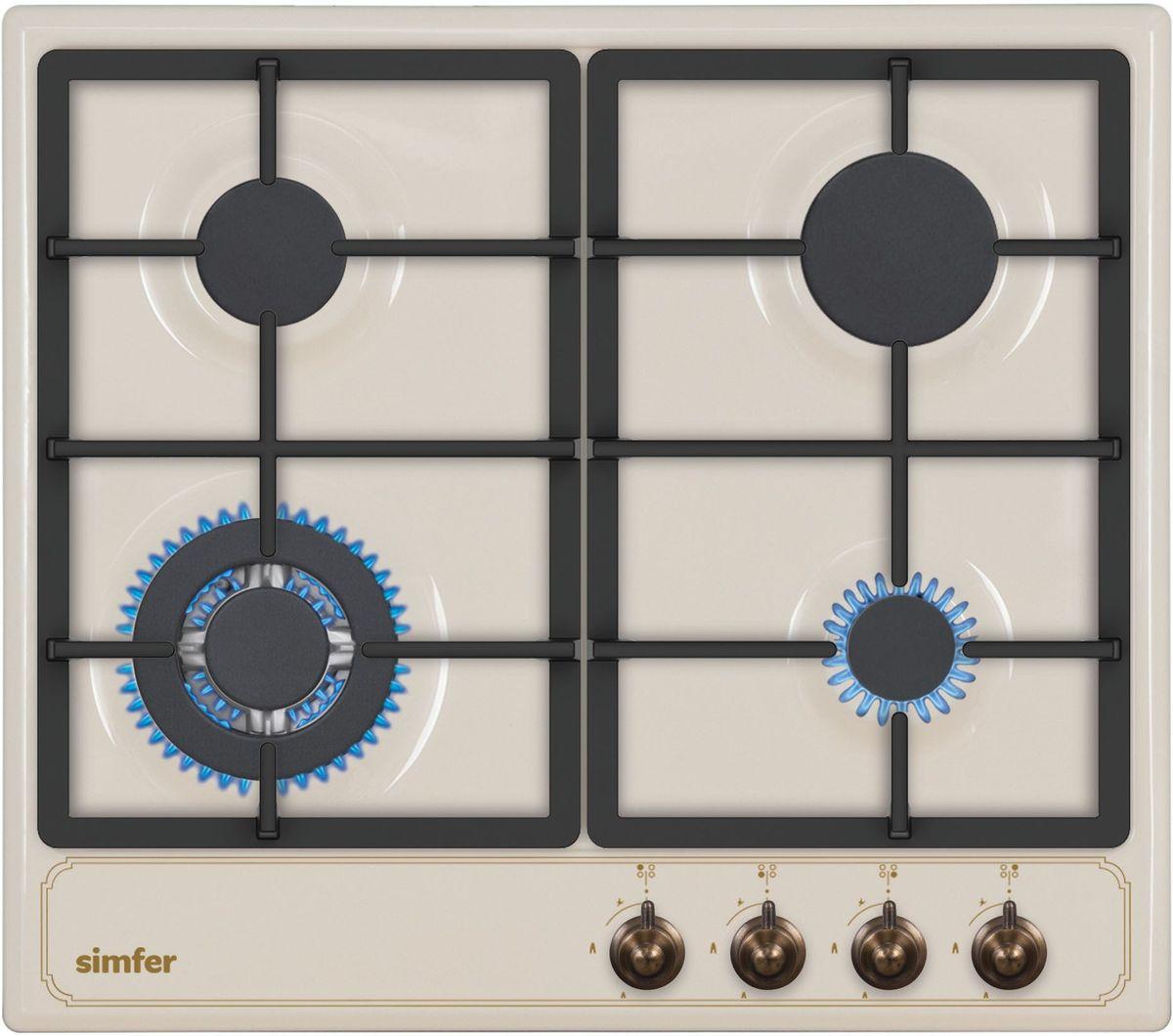 Simfer H60V41O511 панель варочная газовая - Варочные панели