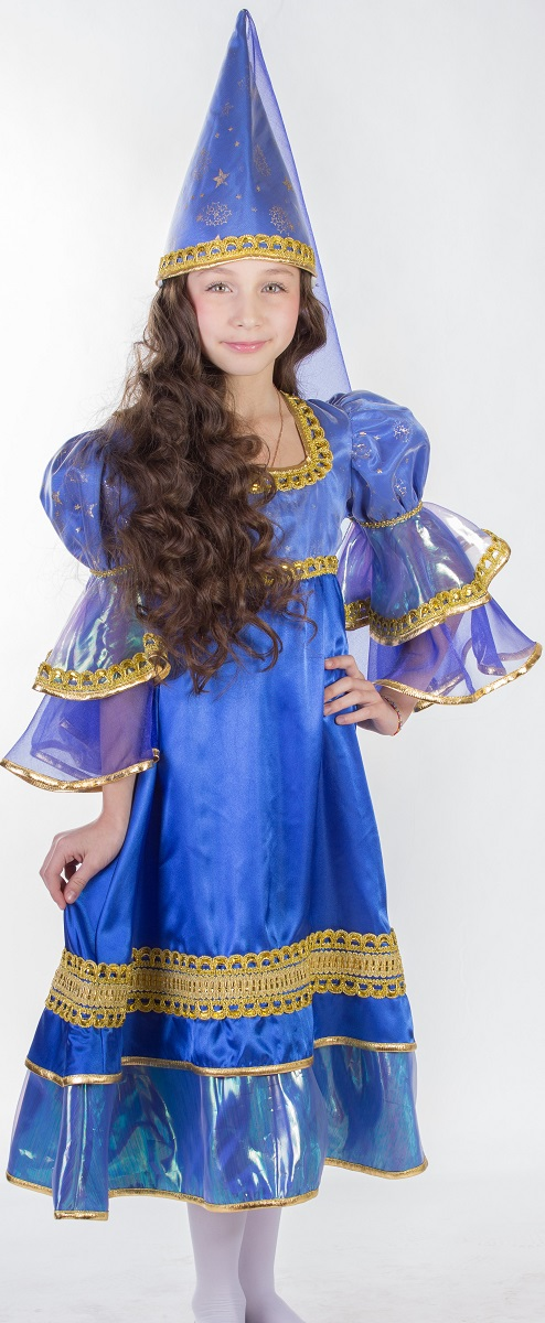 Карнавалия Карнавальный костюм для девочки Ночная фея размер 110 - Карнавальные костюмы и аксессуары