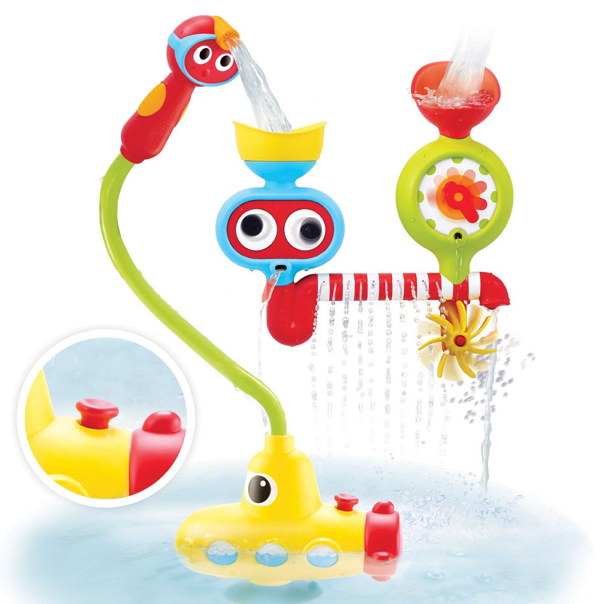 Yookidoo Игрушка-душ для ванной Подводная лодка купить туалетную воду барбери брит