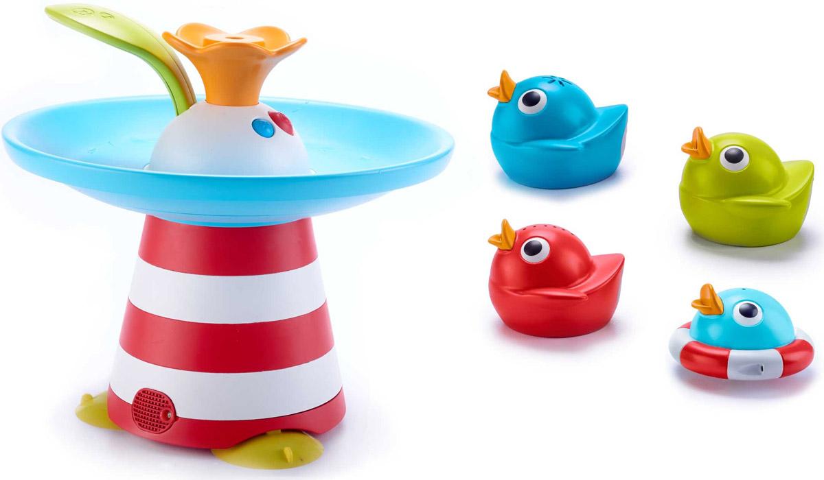 Yookidoo Игрушка для ванной Фонтан Утиные гонки с музыкой