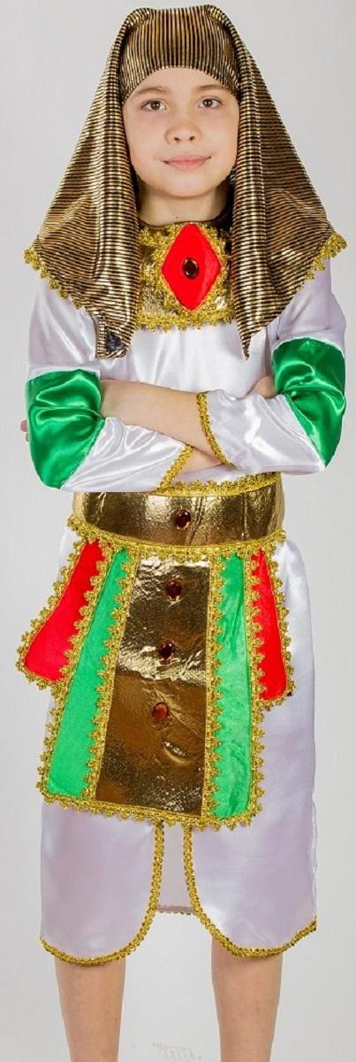 Карнавалия Карнавальный костюм для мальчика Фараон размер 36