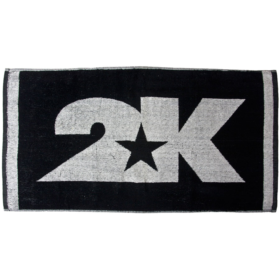 Полотенце 2K Sport Bari, цвет: черный, белый, 40 х 80 см 2k sport 2k sport fenix pro cotton ls