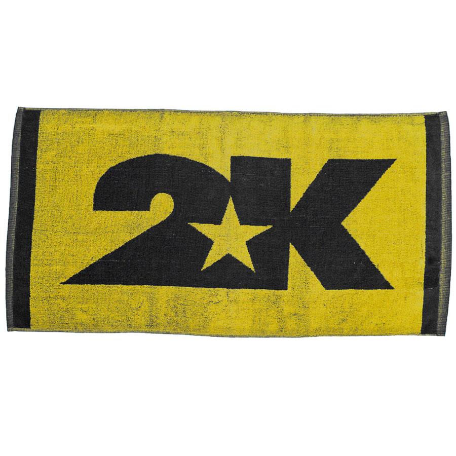 Полотенце 2K Sport Bari, цвет: желтый, черный, 40 х 80 см 2k sport 2k sport fenix pro cotton ls