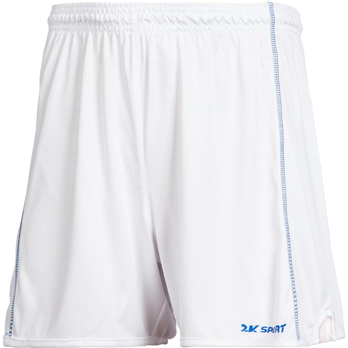 Шорты волейбольные мужские 2K Sport Energy, цвет: белый. 140041. Размер S (46)140041_whiteВолейбольные шорты с контрастными полосами по бокам. Изготовлены из ткани повышенной прочности, дополнены эластичным поясом со шнурками.