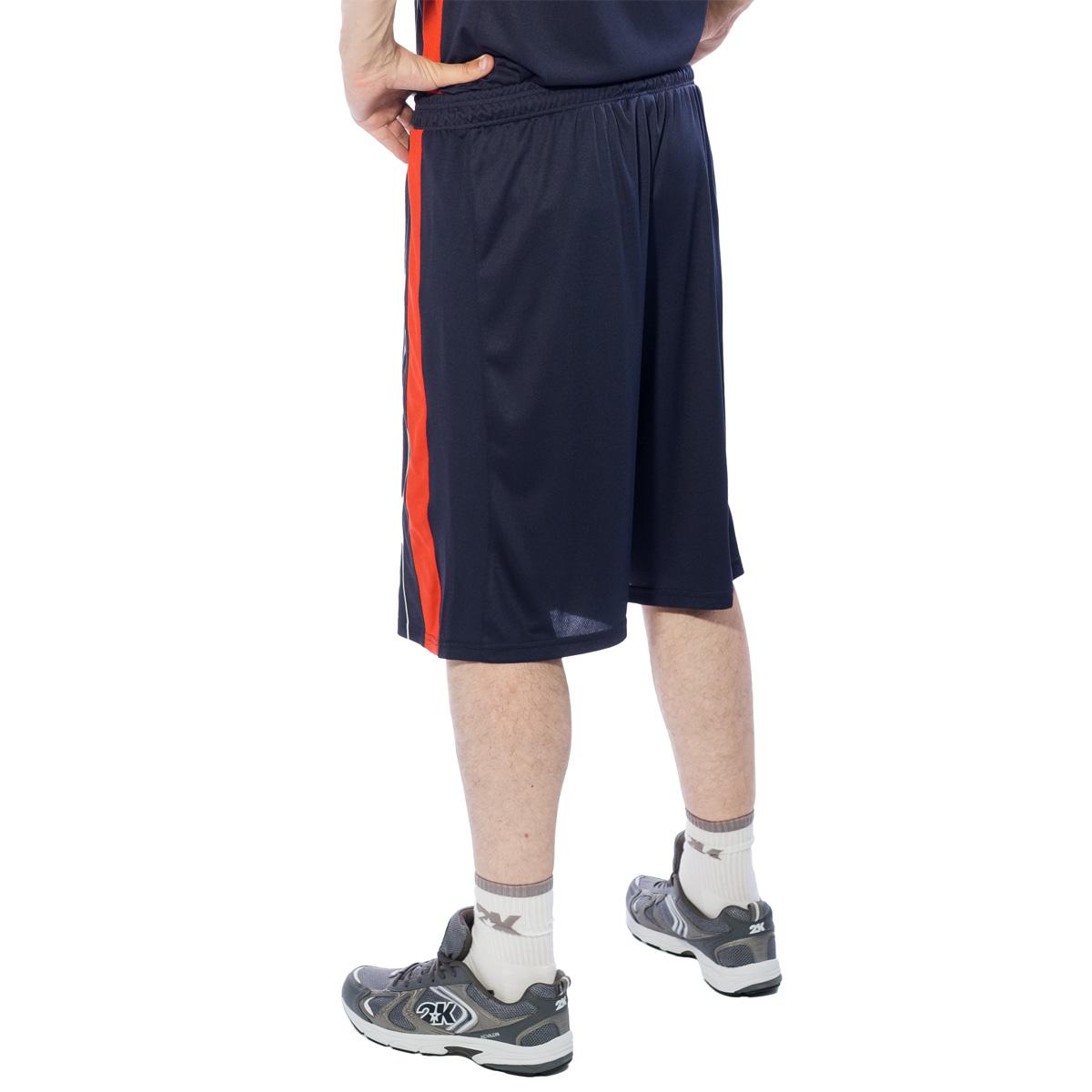 Шорты баскетбольные мужские 2K Sport Advance, цвет:  темно-синий, красный, белый.  130031.  Размер L (50) 2K Sport