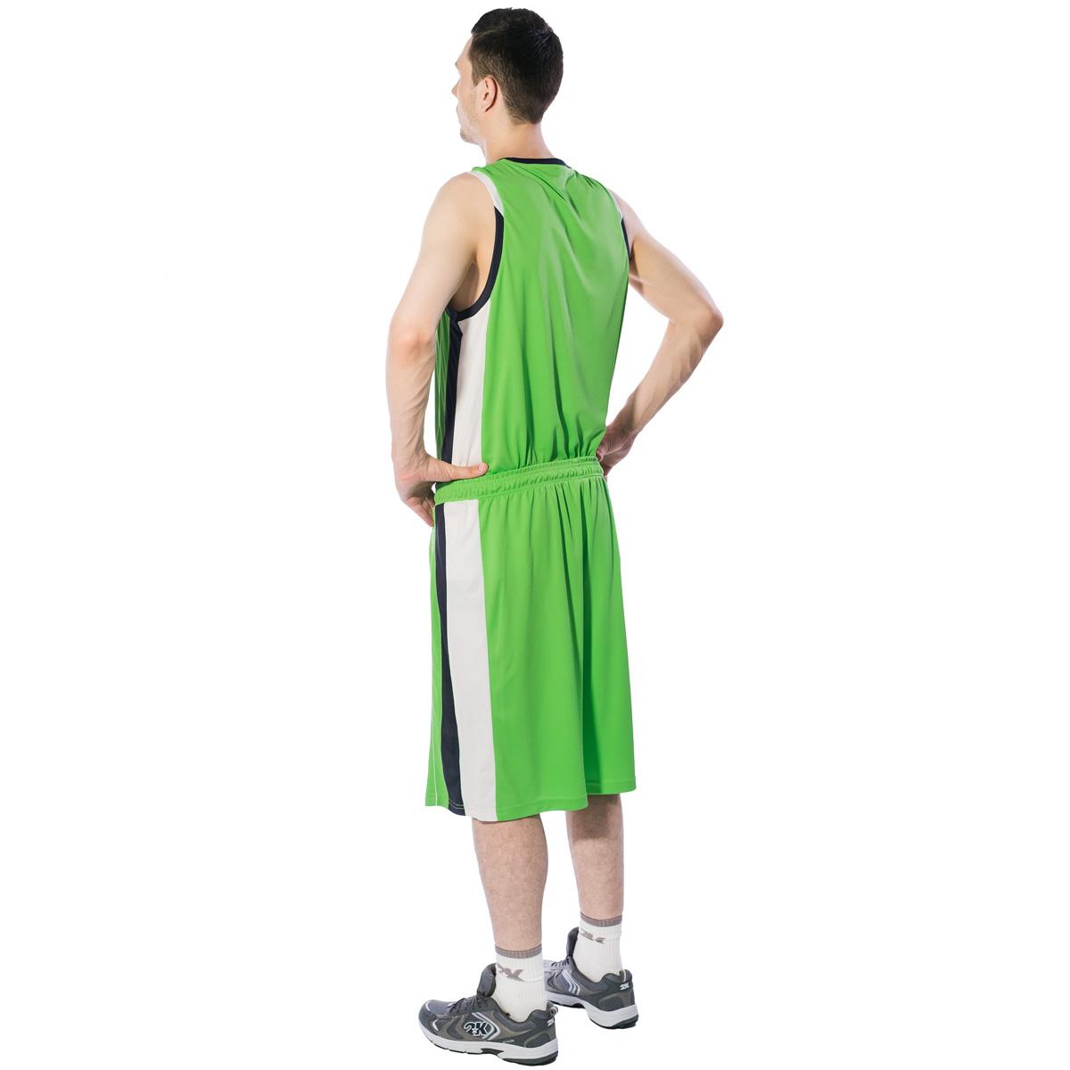 Шорты баскетбольные мужские 2K Sport Advance, цвет:  светло-зеленый, темно-синий, белый.  130031.  Размер M (48) 2K Sport