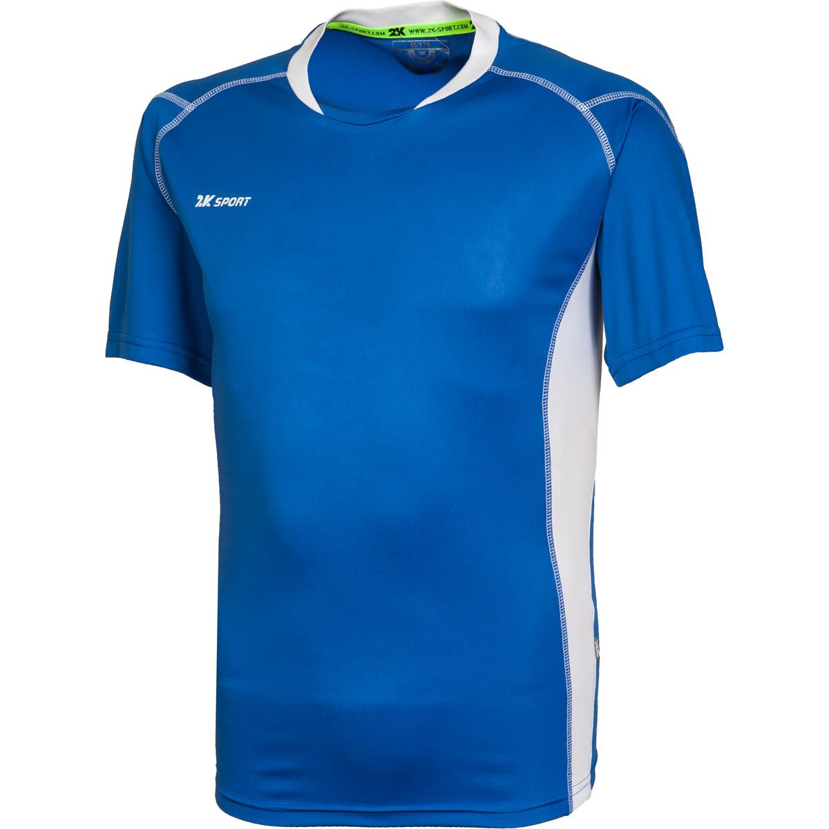 Футболка волейбольная мужская 2K Sport Energy, цвет: синий, белый. 140040. Размер M (48) - Волейбол