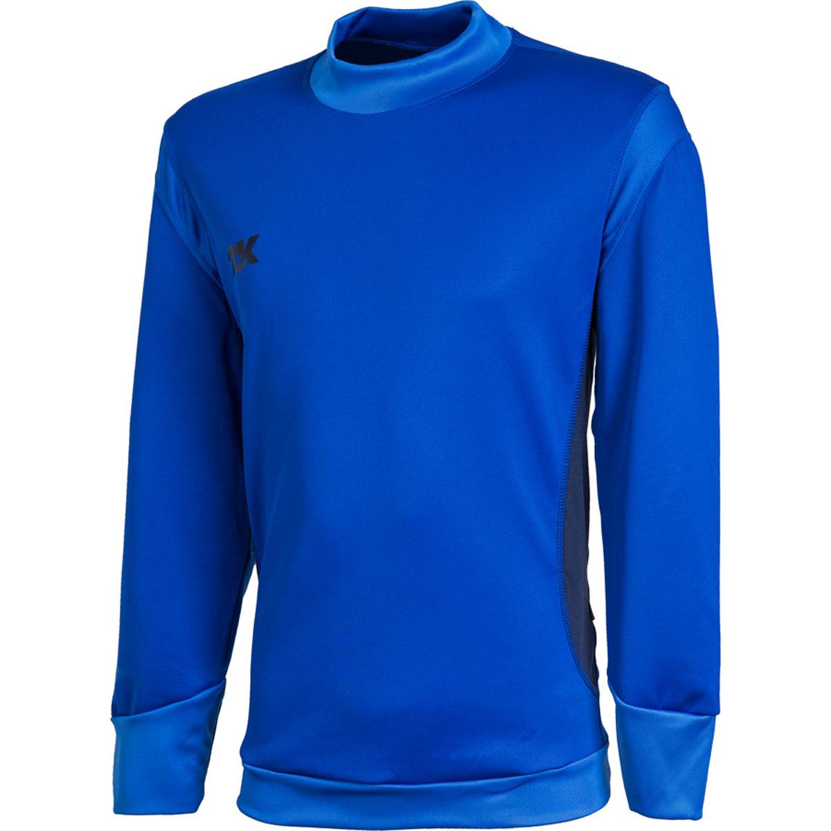 Тренировочный лонгслив 2K Sport Vettore, цвет: синий, темно-синий. 111135. Размер XXL (54)111135_royal/navyТренировочный лонгслив 2K Vettore предназначен для тренировок в теплое время года, а также отлично подходит для повседневной носки. Вентилируемая ткань, обеспечивающая эффективный отвод влаги и сохранение тепла. Анатомический крой манжет на рукавах.